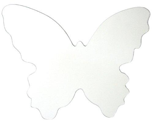 RoomMates MIR0002BTL Butterfly Peel & Stick Mirror