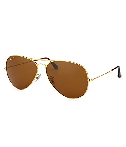 Ray-Ban RB3025 001/57 Medium Size 58 Aviator Sunglasses