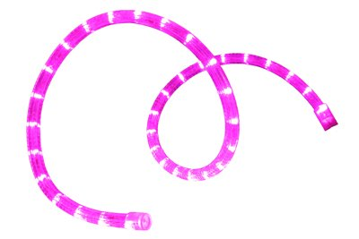 "13 Feet Pre-Cut Led 2-Wire 120 Volt 1/2"" Purple Rope Light"