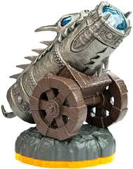 Skylanders Giants LOOSE Figure Dragonfire Cannon [Includes Card & Online Code] - 1