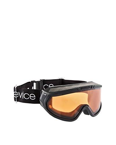Black Crevice Máscara de Esquí Negro