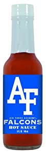 24 Pack Air Force Academy Falcons Hot Sauce 5 Oz Cayenne by Hot Sauce Harry's