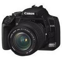 Canon EOS 400D Digital SLR Camera (incl. EF-S 18-55mm f/3.5-5.6, EF 55-200mm f/4.5-5.6 II Lens Kit)