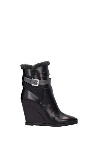 8T497045BF036Q-Fendi-Chaussure-mi-montantes-Femme-Cuir-Noir