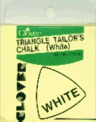Clover Triangle Tailors Chalk White 432-W; 3 Items/Order