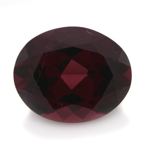 Natural Purple Rhodolite Garnet Loose Gemstone Oval Cut 4.20cts 11*9mm VS Grade