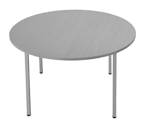 Runder-Schreibtisch-Besprechungstisch-Brombel--1200-mm-lichtgrau-338500