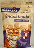 Barbara's Bakery Snackimals Animal Cookies Peanut Butter -- 7.5 oz