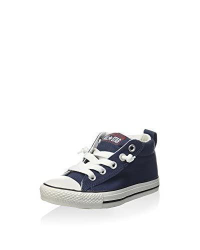 Converse Zapatillas All Star Street Mid Canvas Azul Marino