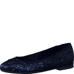 s.Oliver 5-5-22106-26/805-805, Ballerine donna, Blu (blu), 42