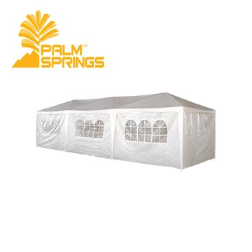 Palm Springs 10' x 30' Wedding Gazebo / Party Tent Marquee with sides