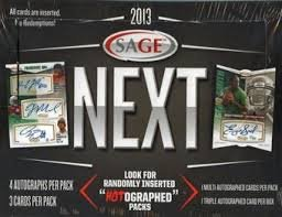 2013 SAGE Next Football box (#