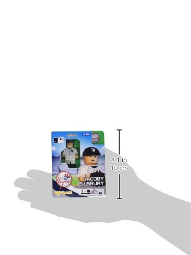 MLB New York Yankees Jacoby Ellsbury Generation 4 Mini Figure, Small, Black