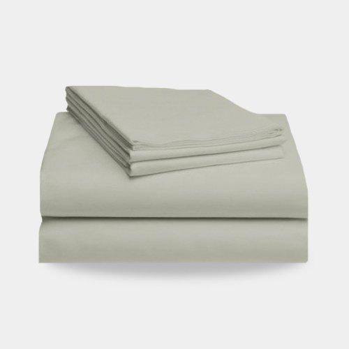 2000 Split King Bed Sheet Set (Ivory) front-28791