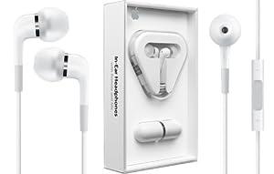 Apple MA 850 G/A Stereo In-Ear-Kopfhörer (109 dB, Fernbedienung, Mikrofon) für iPod weiß