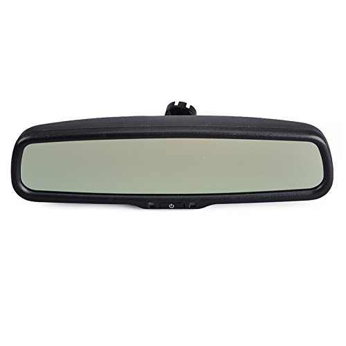 Modello nome: Sincere 4,3 pollici TFT LCD Car Rear View Mirror Display Connect per VCD/DVD/TV/GPS per auto specchio retrovisore auto-dimming (4303-black)