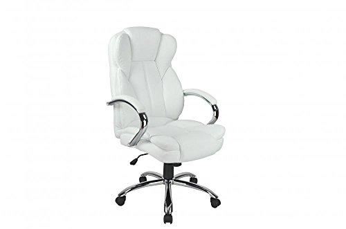 Computer Chair Metal Base This chair feature a heavy duty metal base High Back PU Leather Executive Office Desk Task (Ottomans On Wheels compare prices)