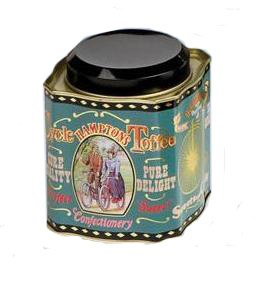 Hamptons Cycle Toffee Classic Confectionery Tin