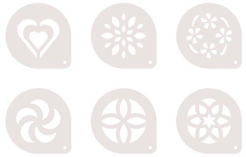 Tescoma Mydrink Mascherine per cappuccino 6 pezzi