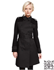 Best of British Double Breasted Belted Trench Coat