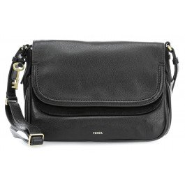 FOSSIL Peyton Large Double Flap Black