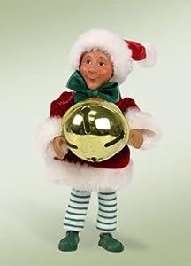 "7"" Kindles ""Dingaling with Jingle Bell"" Elf Bendable Poseable Christmas Figure"