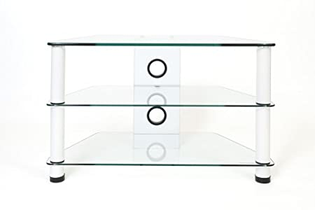 Buying Guide of  Demagio DM021-WG- Clear Glass and  Column Stand for LCD and Plasma TV