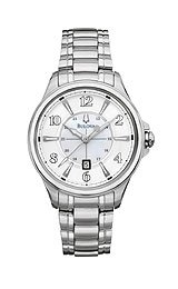 Bulova Bracelet Collection Adventurer Mother-of-pearl Dial Women's watch #96M109
