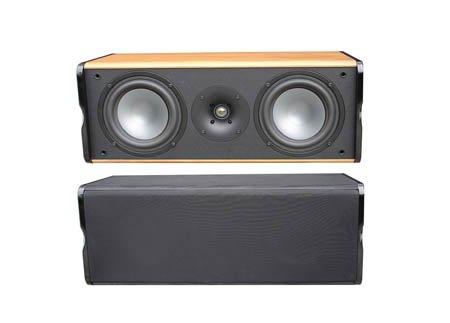 Premier-Acoustic-PA-6C-Center-Channel-Speaker-Cherry