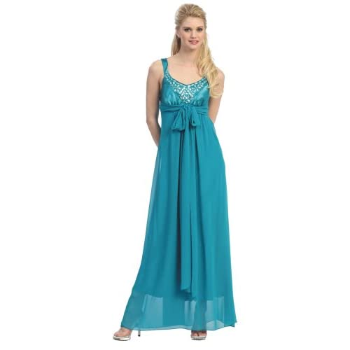 Elegant Bridesmaid Formal Prom Gown Dress