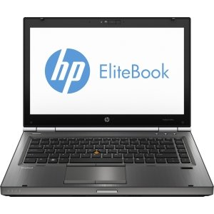 HP EliteBook 8470w C7A68UT 14 LED Notebook - Intel - Core i7 i7-3630QM 2.4GHz - Gunmetal -