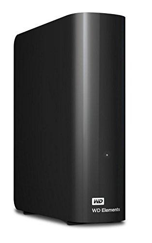 WD Elements 5TB External HDD Black