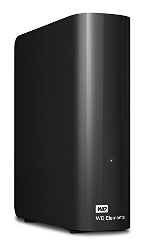 Western Digital 5TB Elements Desktop externe Festplatte USB3.0 -WDBWLG0050HBK-EESN