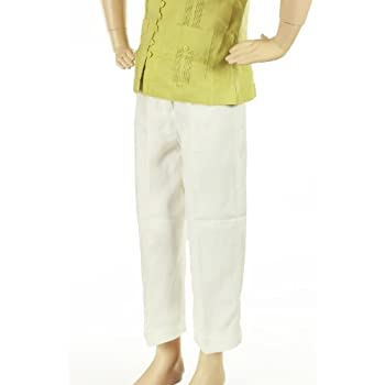 Girls capri pants. 100% irish linen
