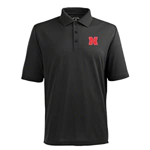 Nebraska Pique Xtra Lite Polo Shirt (Alternate Color) by Antigua