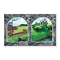 Castle Window Insta-View Party Accessory (1 count) (1/Pkg) from The Beistle Company