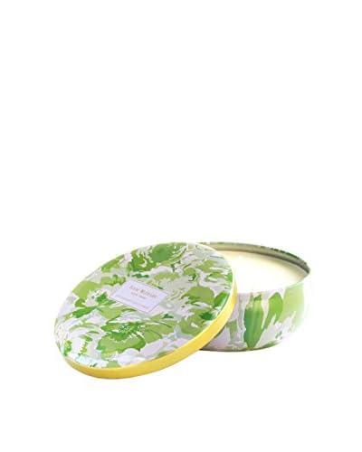 Isaac Mizrahi Hampton Lemon Grass 3-Wick Jar Candle, Green