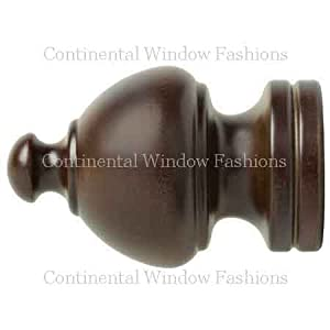 Kirsch Sherwood Finial:White