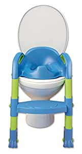 Amazon Com Kiddyloo Toilet Seat Reducer Blue Green