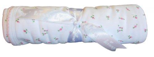 Kissy Kissy Baby Girls Garden Roses Print Blanket- One Size - 1