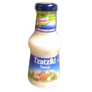 Tzatziki Sauce, (Cucumber Gyro Sauce) (Knorr) 250ml