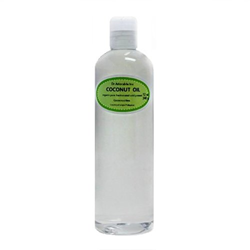 24 oz Fractionated Coconut Oil Liquid Pure Organic Raw by Dr.Adorable Anti-Wrinkle Anti-Aging Stretch Marks Moisturizer Carrier & Massage Oil