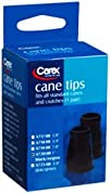 Carex Cane Tips Black 1inch A720 (1 p…