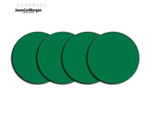 Centre de roue en alliage PAC Badges pour Skoda Honda mg (Clr 57mm), autocollant, vert Racing