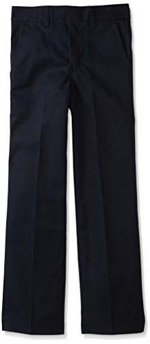 Dickies Little Boys' Classic Flat Front Pant,Dark Navy,8Regular