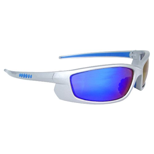 Radians Vt6-63 Voltage Protective Safety Glasses, Electric Blue Lens, Silver Frame