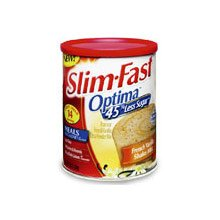 Slim Fast FC2637 Optima &#8211; French Vanilla Shake Mix &#8211; 12.8oz