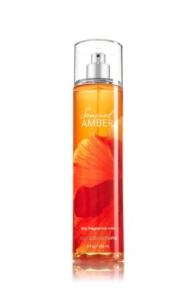 Bath Body Works Sensual Amber 8.0 oz Fine Fragrance Mist (Amber Body Spray compare prices)