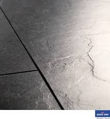Quick-Step EXQUISA Tile slate Black Laminate Flooring