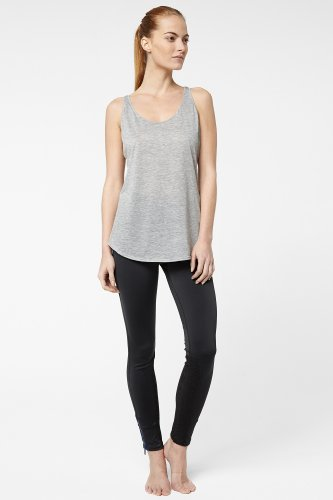 Technical Jersey Legging With Mesh Insets